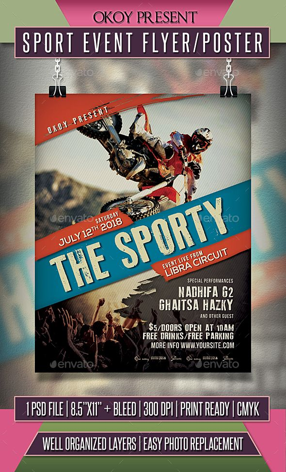 The 1771 best Typography Flyer Template images on Pinterest Flyer