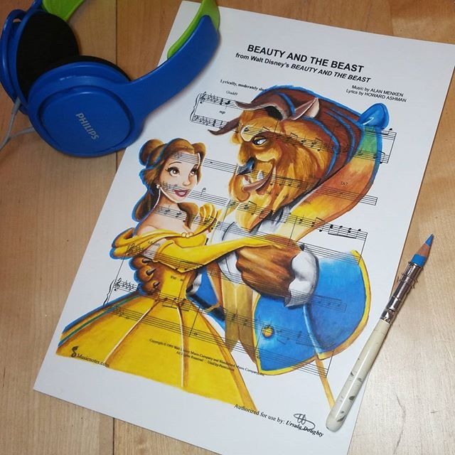 Beauty And The Beast Sheet Music With Lyrics: 17 Best Images About Clipart On Pinterest