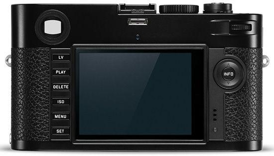 Leica M-P 240 (Back)