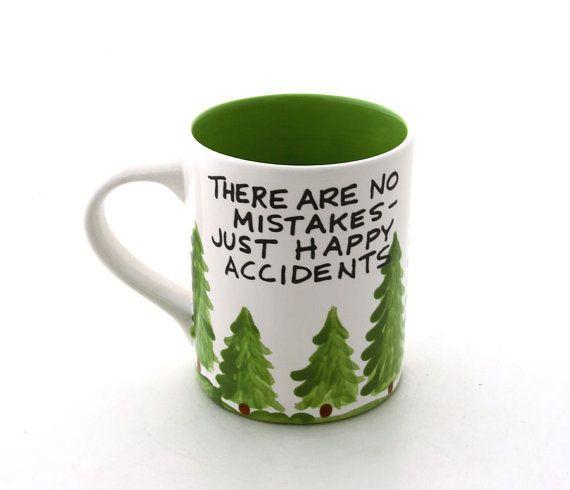 Hey, I found this really awesome Etsy listing at https://www.etsy.com/listing/120265589/bob-ross-mug