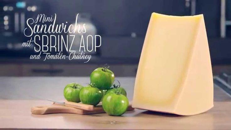 Entdecken Sie dieses Gourmet-Rezept für Mini- Sandwichs mit Sbrinz AOP und Tomaten-Chutney in einem innovativen Video, das ihre Geschmacksnerven ansprechen w...