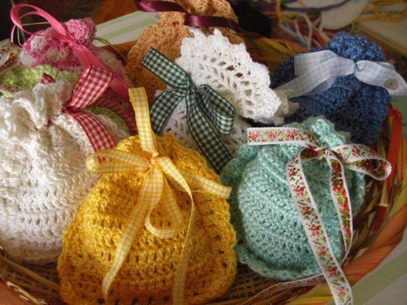 bomboniere - confezione da 10 sacchettini di LecoccoledinonnaAdy su Etsy