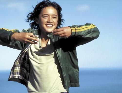 Keisha Castle-Hughes in 'Whale Rider' - born 24 March 1990