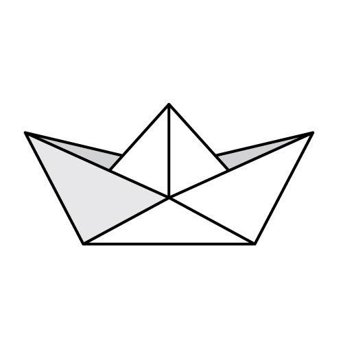 Boat origami boat make origami boat origami sailing boat origami boat - 1000 Ideas About Boat Tattoos On Pinterest Ship Tattoos