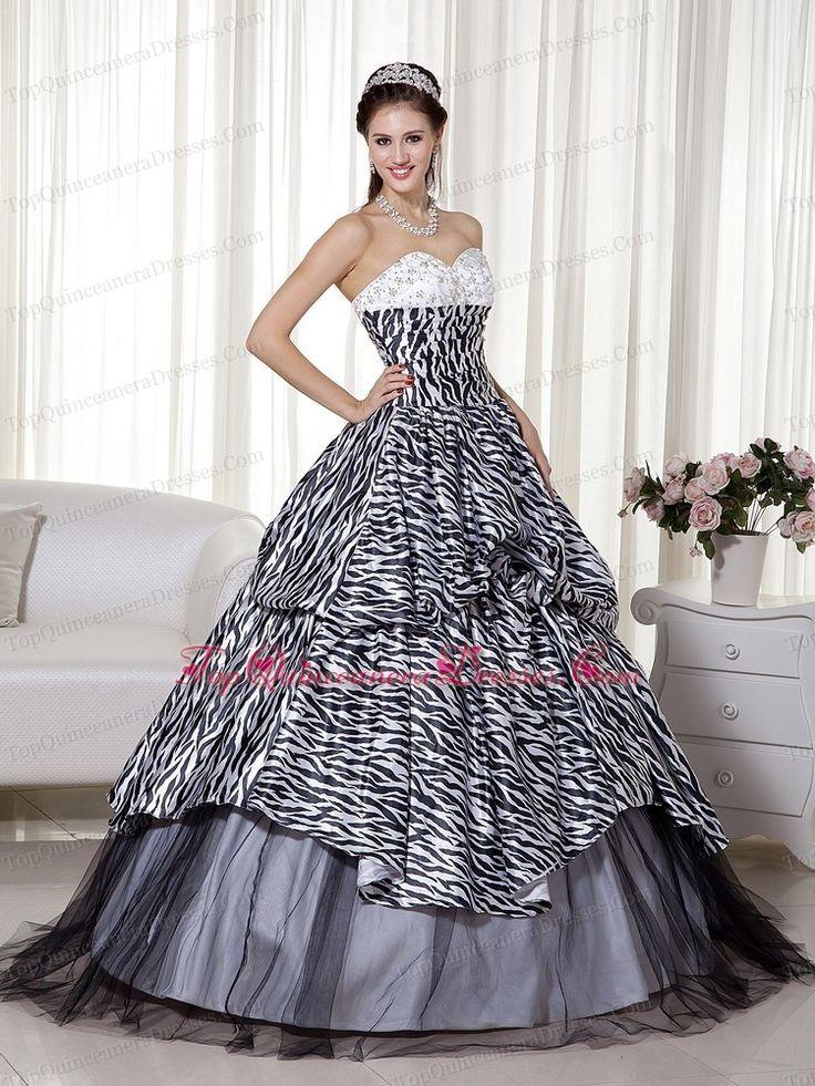 40 Best Zebra Print Dresses Images On Pinterest