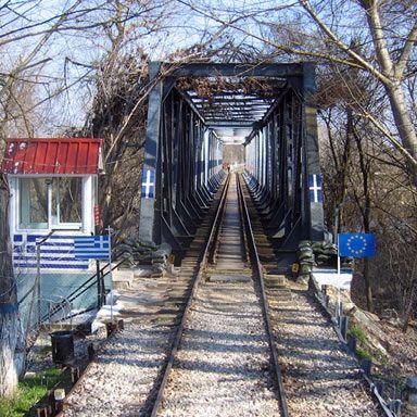 Railway bridge at Greek-Turkish border near Pythion | Photo: Reinhard Dietrich/Wikimedia Commons CC-BY-SA