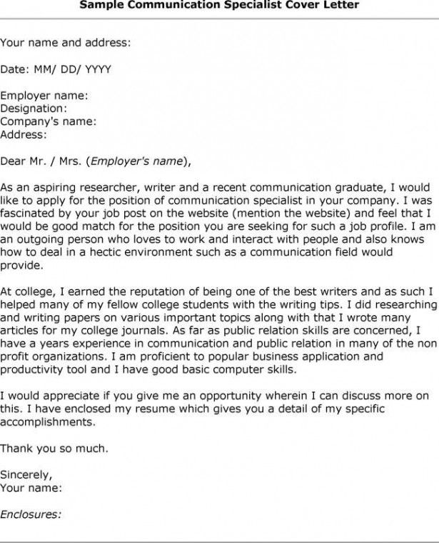 95 best Cover letters images on Pinterest Cover letter sample - examples cover letter for resume