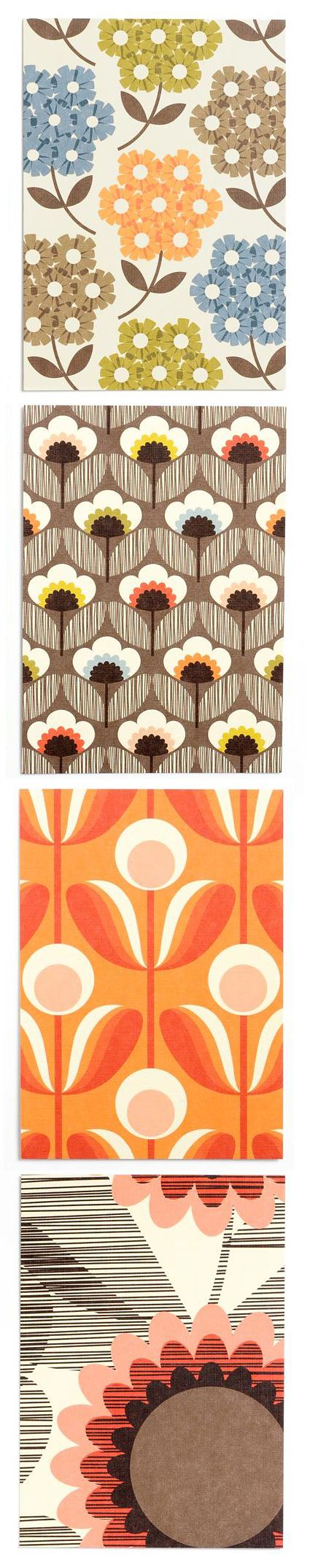 I admire Orla Kiely as a print designer as her bold and simple designs are very effective and can be used for both fashion and interiors