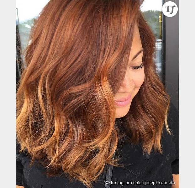 Les cheveux citrouille la tendance capillaire hautement d sirable de cet automne inspi - Coupe et couleur tendance automne 2015 ...