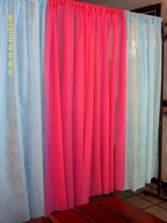 cortina de tnt para festa feminina