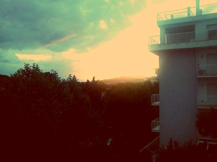 The sun goes down *** Pineto Abrazzo, Italy