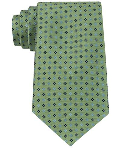 Tommy Hilfiger Square Neat Tie - Ties & Pocket Squares - Men - Macy's
