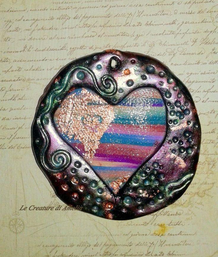 Colorful Heart https://www.facebook.com/Le-Creature-di-Amelia-Antica-Madre-213397572041474/