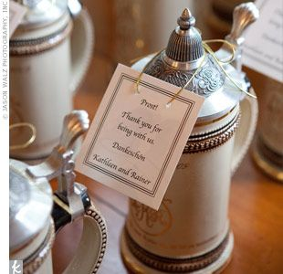 German Wedding Favors