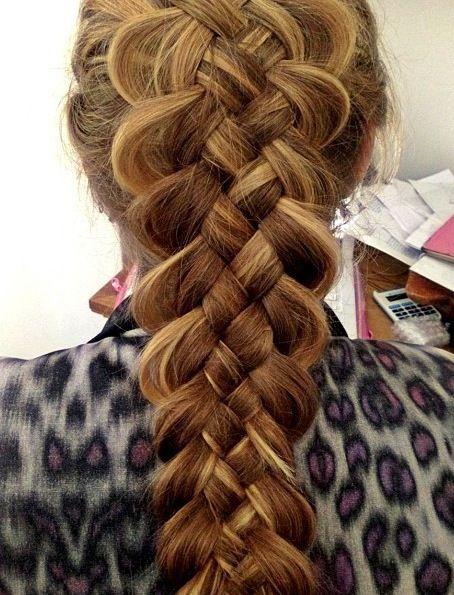 Dutch six strand braid