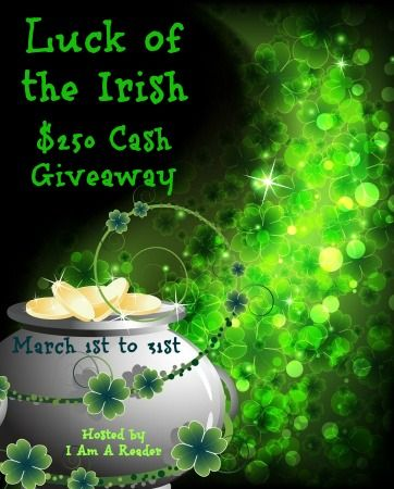 Luck of the Irish $250 Giveaway March 1st to 31st  Feeling Lucky? Enter to win $250 in PayPal Cash or a $250 Amazon Gift Code  Sponsor List – Thanks to these awesome authors &…