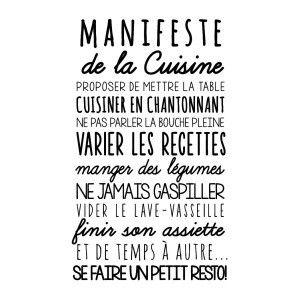 Les 25 meilleures id es de la cat gorie citation cuisine for Stickers phrase cuisine