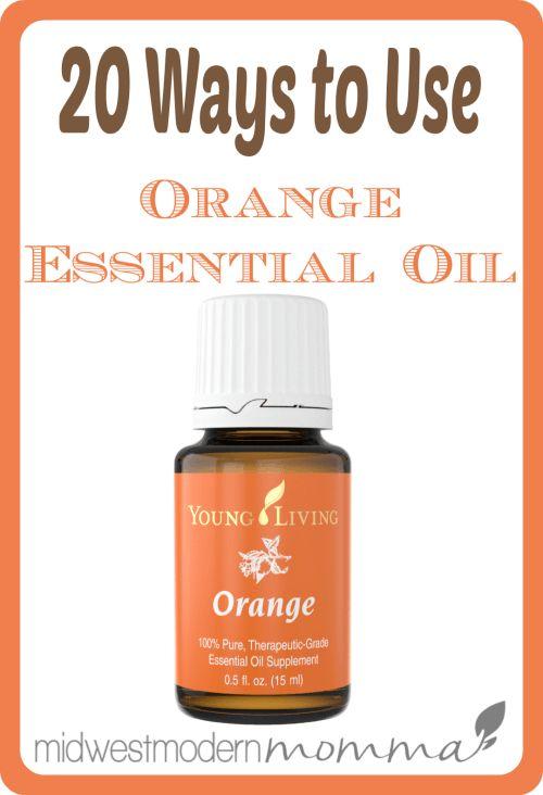 20 Orange Essential Oil Benefits