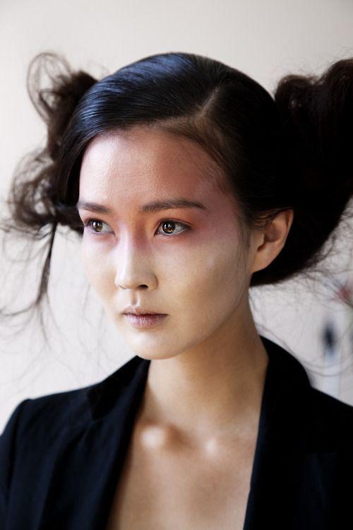 asian model | Tumblr | Makeup. | Asian models female, Face ...
