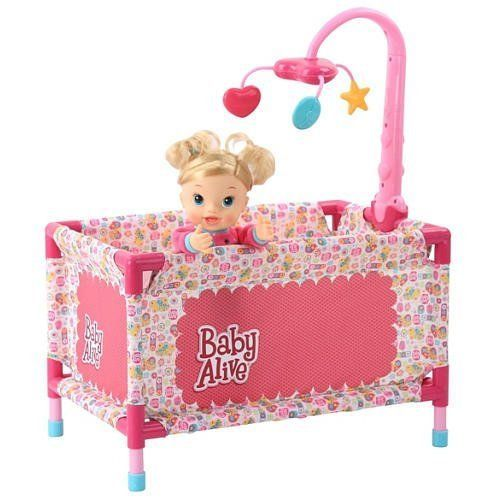 Baby Alive Play Yard with Mobile #Hasbro