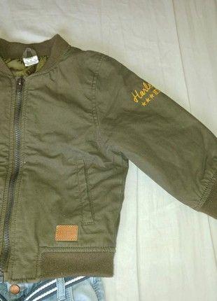 Kupuj mé předměty na #vinted http://www.vinted.cz/deti/kluci-kabaty-a-bundy/17733807-krasny-detsky-khaki-bomber-ff
