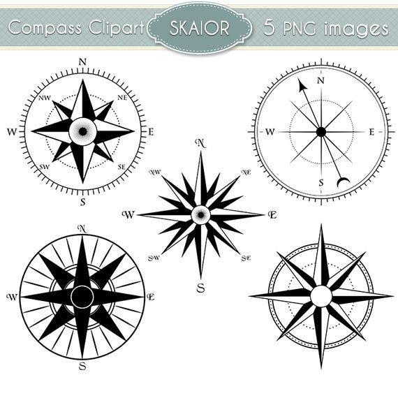 Clipart boussole compas de Vector Clip Art Steampunk nautique by skaior   Etsy
