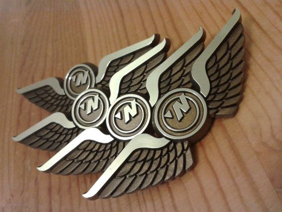 Airplane Party Favors (Pilot Wings Pins FOUR Packs) Ships Free