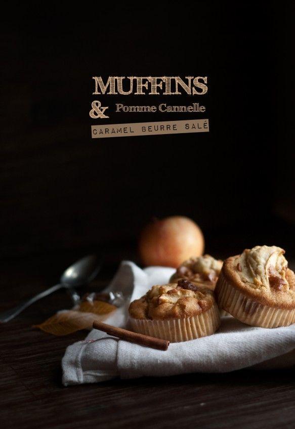 muffin pomme-cannelle et caramel beurre salé