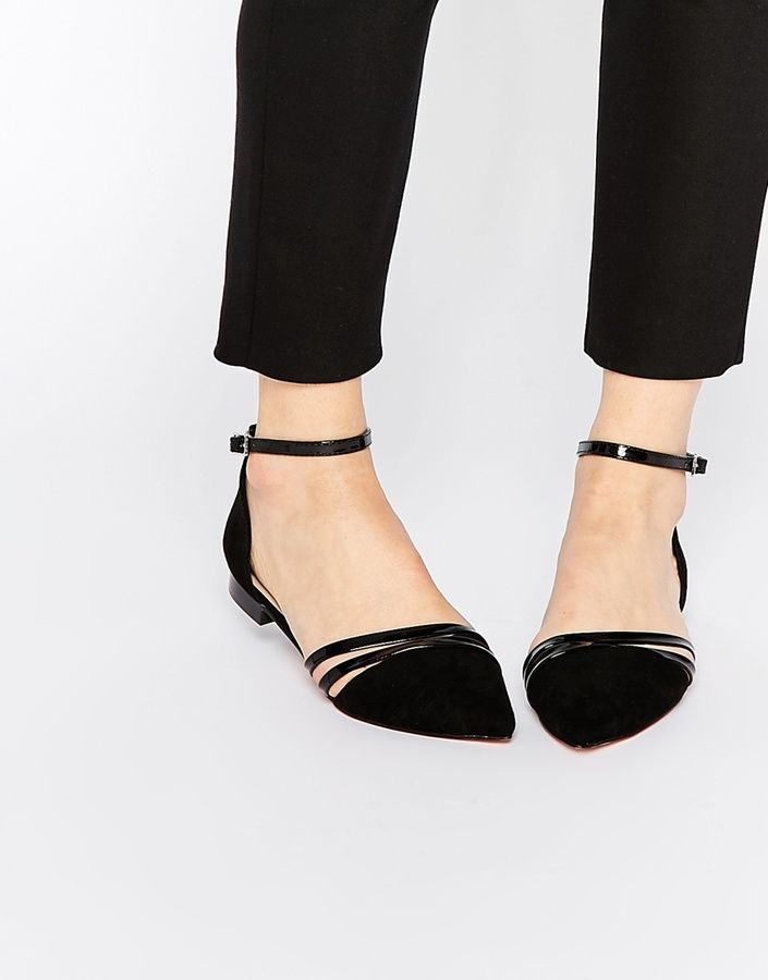 ASOS COLLECTION ASOS LIFESTYLE Pointed Ballet Flats