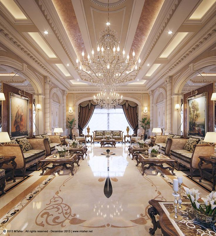 Luxury Mansion Living Room Designer: Living Room Luxury