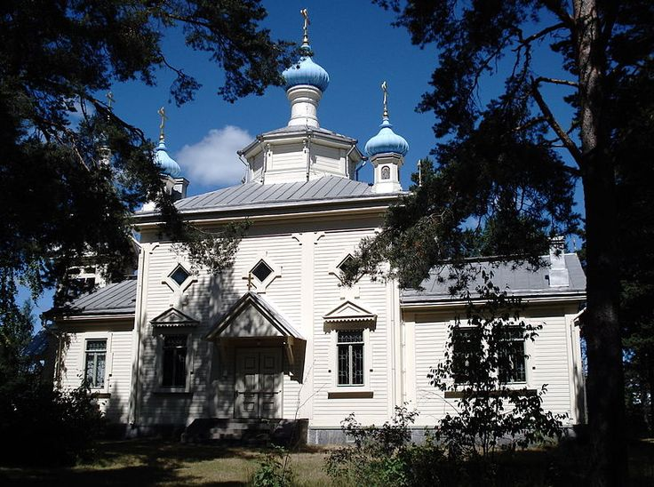Orthodox church in Hanko, Finland. It was built in 1895, and is dedicated to Vladimir, the Grand prince of Kiev and St. Mary Magdalene 2. I by Balcer