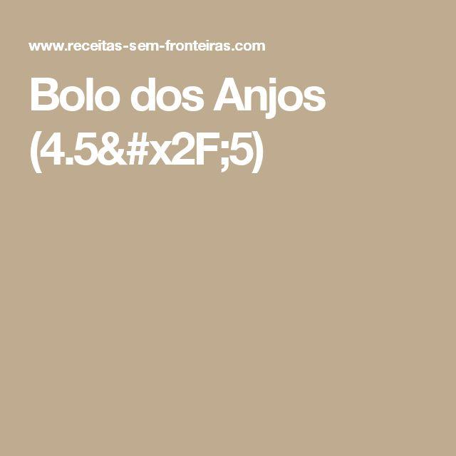 Bolo dos Anjos (4.5/5)