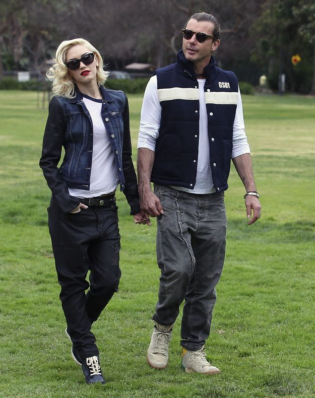 Gwen Stefani And Gavin Rossdale Went To The Park With Their Kids
