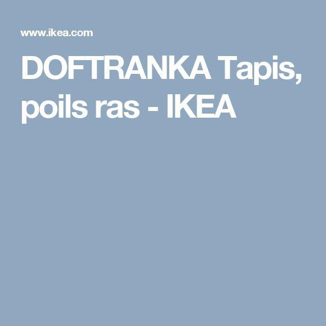 DOFTRANKA Tapis, poils ras - IKEA