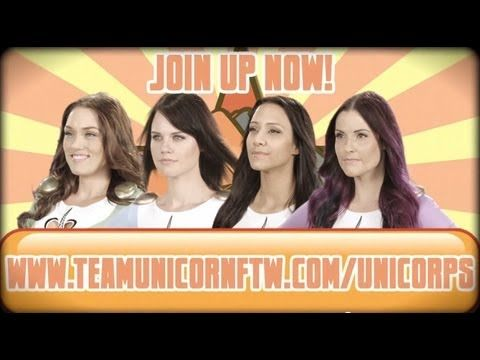 Team Unicorn wants YOU! Join the UniCorps, an intergalactic force of awesome. Punch out bad guys, rescue kittens, make rainbows appear from nowhere! Become a...
