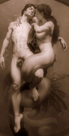 Roberto Ferri - Hermaphroditus and Salmacis.