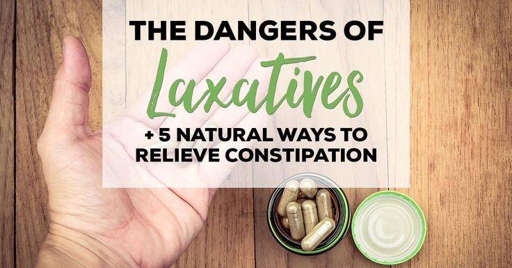 The Dangers of Laxatives + 5 Natural Ways to Relieve Constipationsandy culpepper