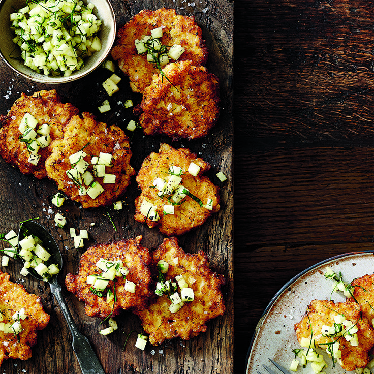 Try our recipe for Red Curry Ling Fritters. #Curry #Ling #Fritters