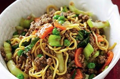 Beef Chow Mien ( Weight Loss Recipe )