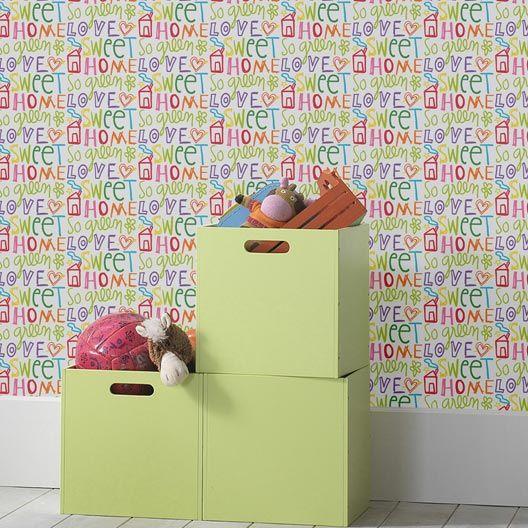 Papier peint sur papier Concept, multi couleur, larg. 0.53 m