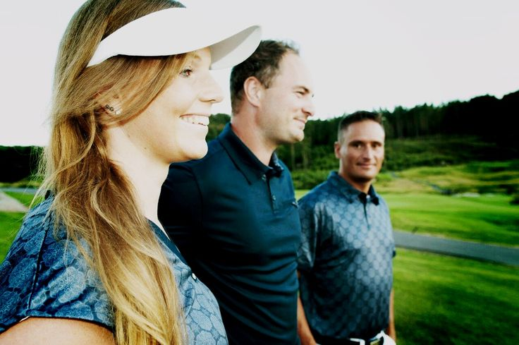 Golf men and women fashion. Bridging function and fashion on and off the links.