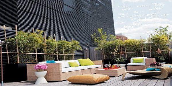 Impressive Modern Outdoor Living Room Design