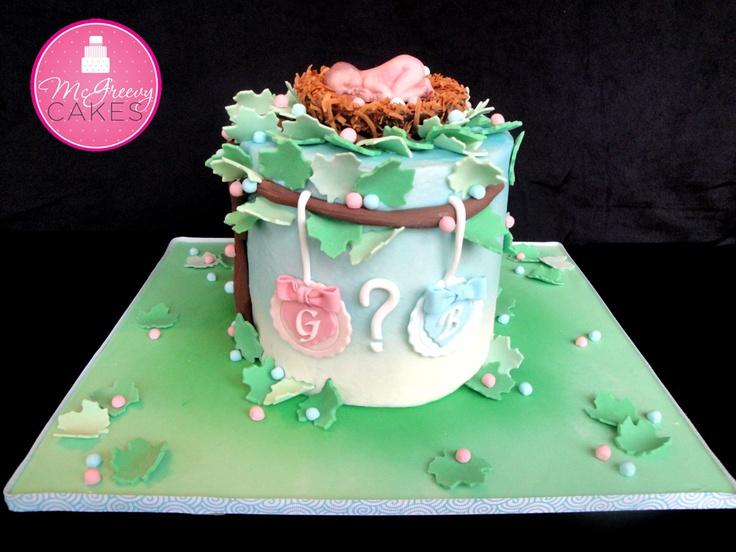 Gender Of Baby Cake