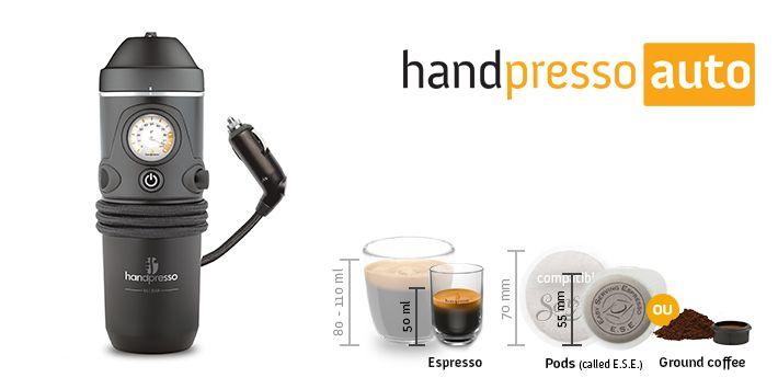 Mobile Expresso Machine Handpresso Auto 1