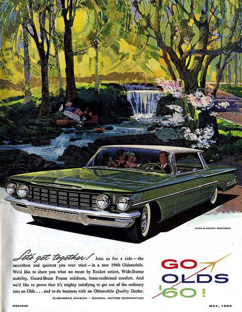 1960 Oldsmobile Super 88 Holiday Sportsedan