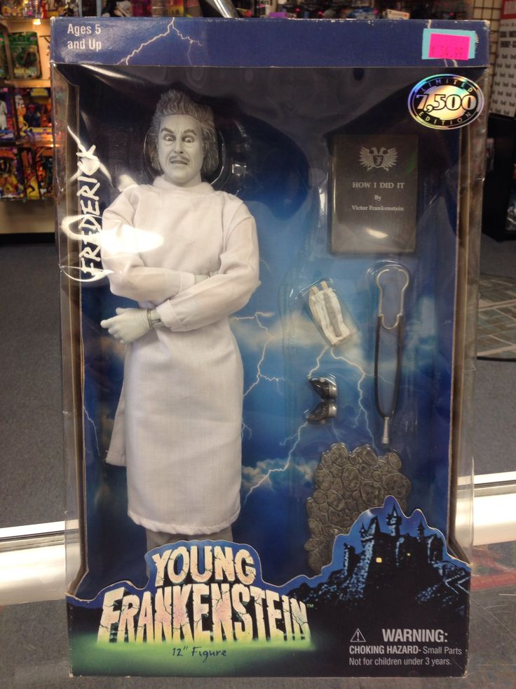 Sideshow Toys Young Frankenstein Frederick