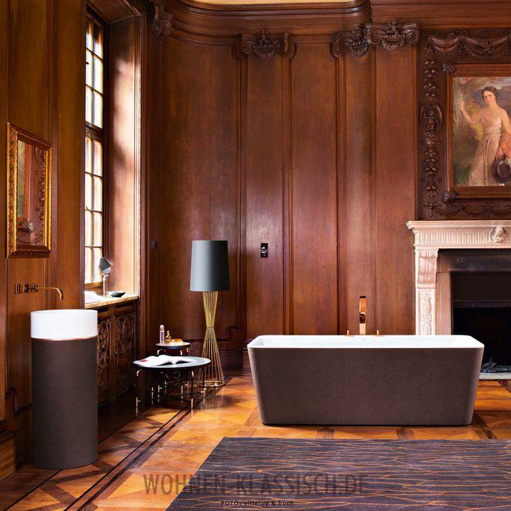 Badewanne Mit Erlesener Außenverkleidung #klassischwohnen #living #design # Interior #interiordesign #decoration