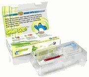 """Gishy Goo! One Patient Kit - Red by Gishy Goo. $7.45. Because braces touch your cheeks, lips, and tongue with wires, hooks, and rough edges, you are likely to feel a bit sore at first. You also may get little sores called mouth ulcers or """"canker sores."""" Gishy Goo is the perfect solution to help you get more comfortable with your braces at the beginning and throughout treatment. Gishy Goo protects your lips and cheeks throughout the day, even while eating and drinking."""