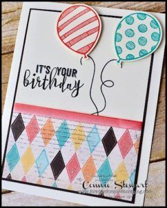 Make It Monday - Balloon Adventure Birthday | Simply Simple Stamping