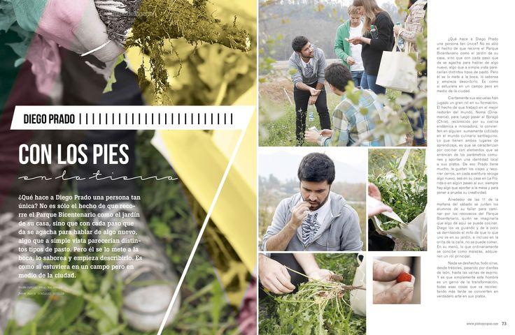 Revista Platos&Copas // Artistas del ingenio: Con los pies en la tierra.